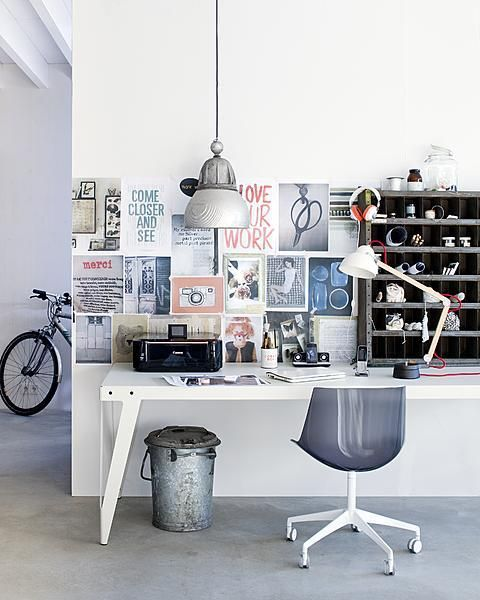 Tips For Redecorating Your Home Office: Grand Designs For Small Workspaces: The Freelancer's Dream