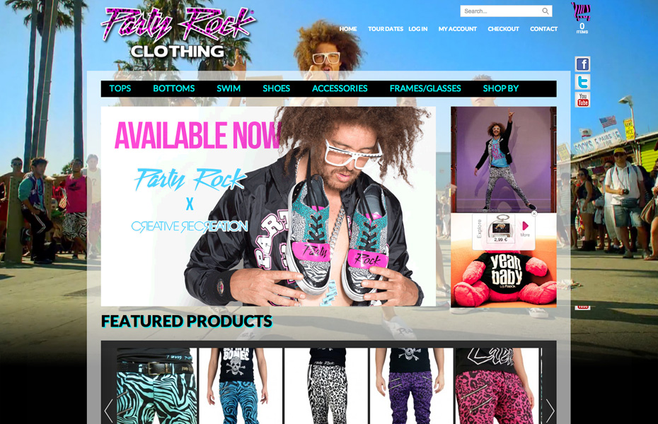 Party Rock Clothing