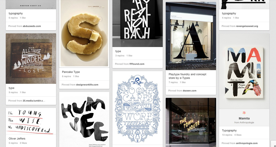 Angie Durrant Batis | Typography | 446 Pins