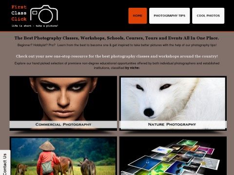 Best Photography Classes And Workshops | First Class ClickFirst Class Click