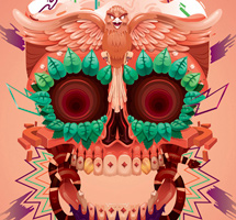 Day of the Dead Illustrations