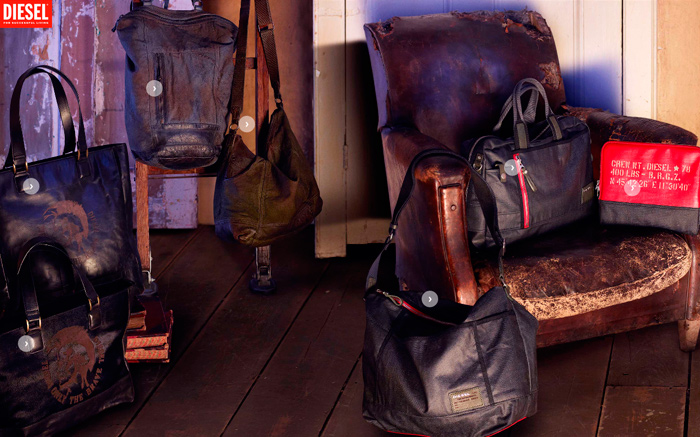 Diesel Shoes, Bags & Accessories