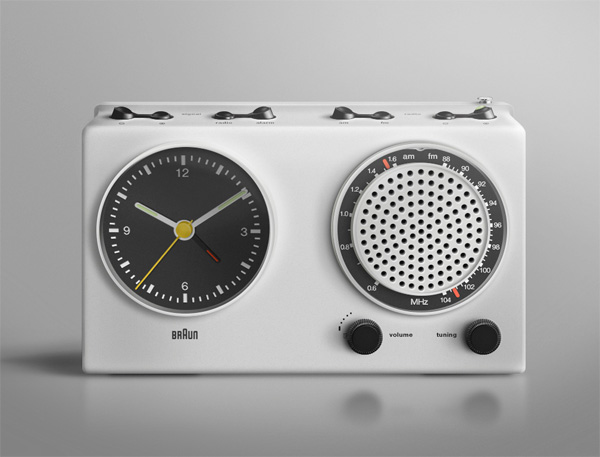 Braun Radio, Photoshop Illustration