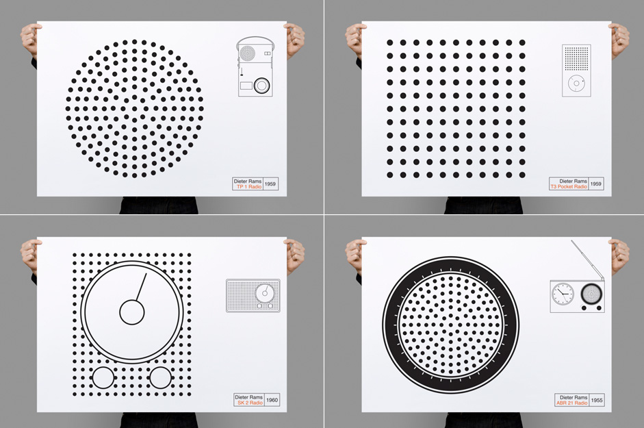 Less But Better. Tribute to Dieter Rams, Poster