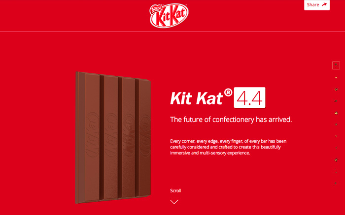 Welcome To Kit Kat 4.4