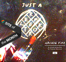 JUST A REFLEKTOR has won Site of the Month for September
