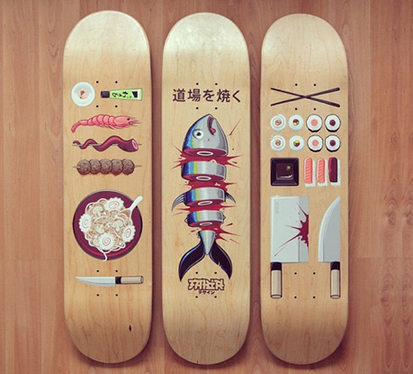 The Fusion of Skateboarding and Illustration