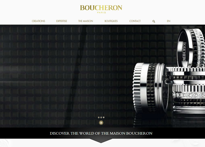 Boucheron. Digital paper art.