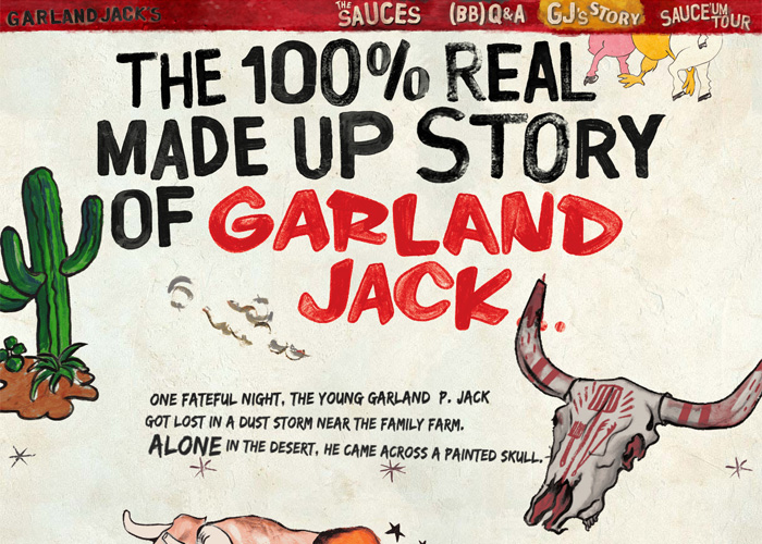 Garland Jack's Secret Six BBQ Sauce