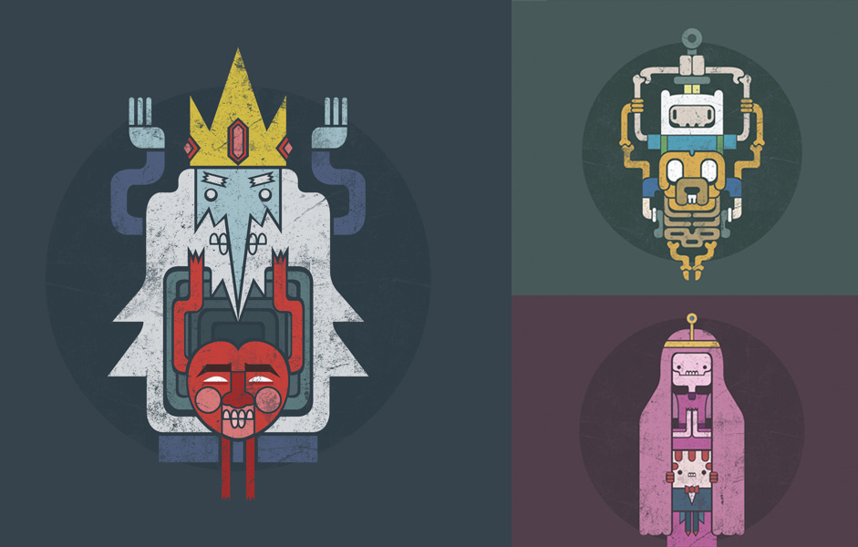 Character Design Adventure Time : Adventure time remix