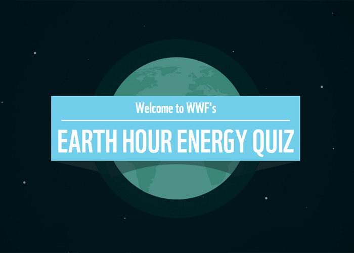 WWF Earth Hour Energy Quiz