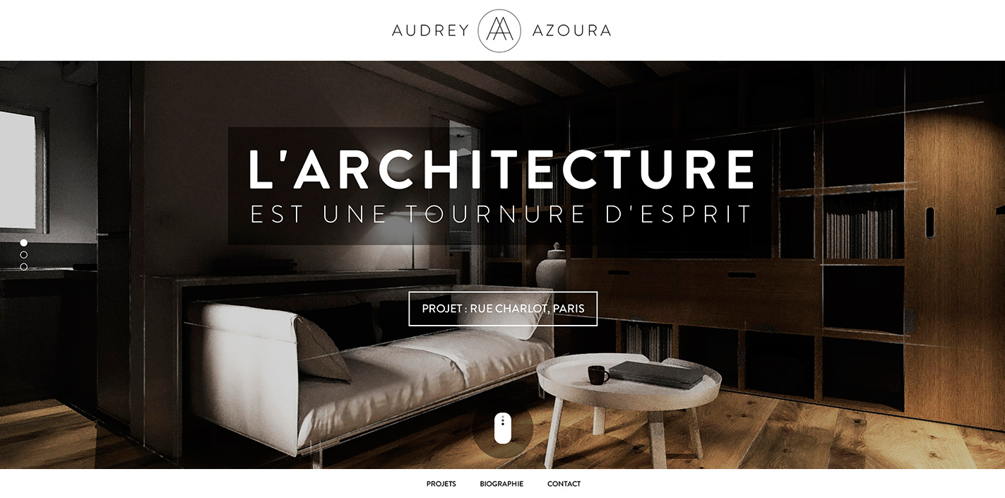 Audrey azoura site of the day december 03 2013 for Best interior design sites