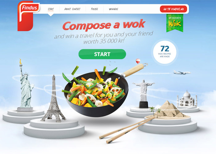 Create your favourite wok