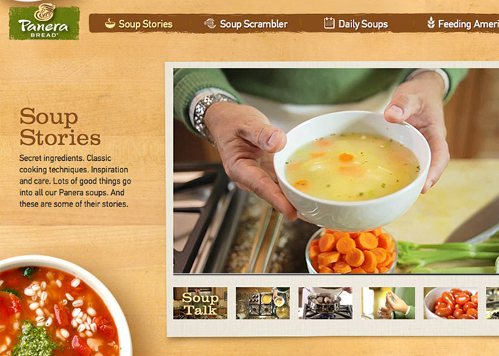 Panera Bread Soup Stories