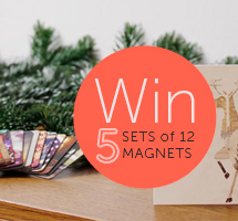 Christmas Giveaway: Win a Set of Magnets with your Best Instagram Moments!