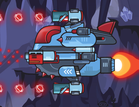 Presenting Skytte: a classic, fast-paced horizontal shoot'em up developed in HTML5/Canvas and Vanilla JS!