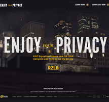 ENJOY YOUR PRIVACY wins Site of the Month for NOVEMBER