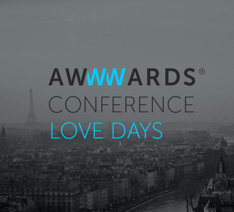 The Awwwards #LoveDays conference is coming!