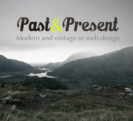 Harmonious Relations between Past and Present in Web Design