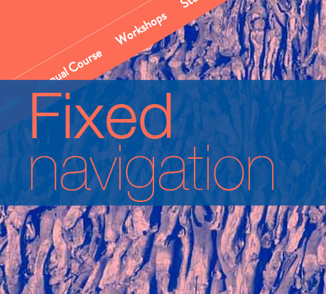 Fixed Navigation Bars: Pros and Cons