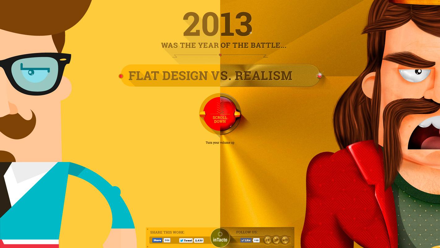 Flat Design Vs Realism Sotd