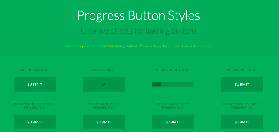 Progress Button Styles