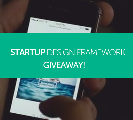 "GIVEAWAY - Win a ""Startup Design Framework"" by Designmodo worth $249!"