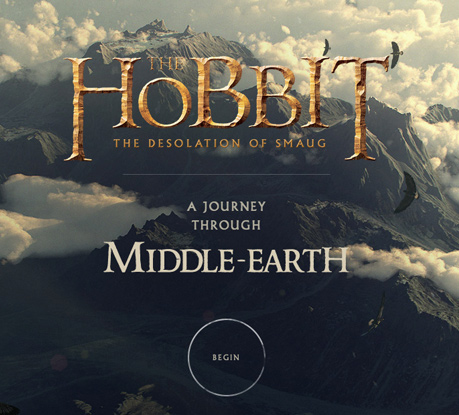 A Journey Through Middle-earth wins Site of the Month for January