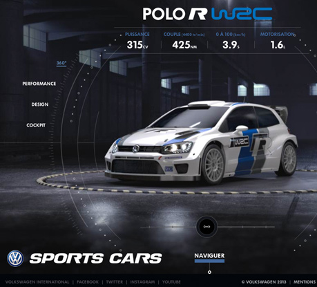 Volkswagen Sportscars wins Site of the Month for March