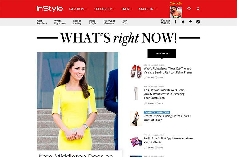 Inside InStyle.com