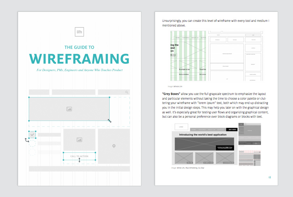 The Guide to Wireframing For Designers: A Free Ebook from UXPin