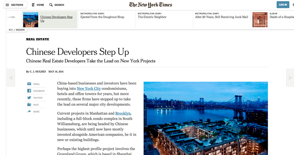 Online Newspapers use the scrolling format to accommodate articles of variable lengths