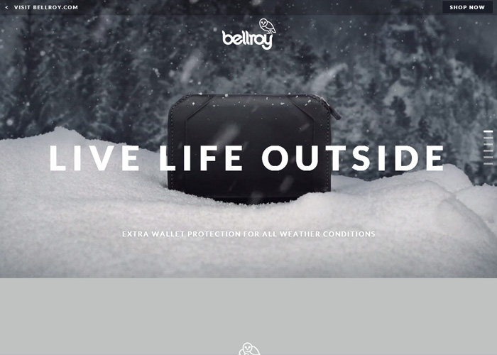 Bellroy - Live Life Outside
