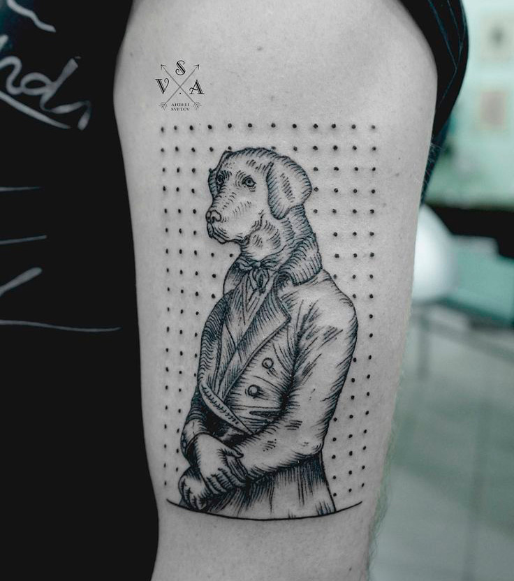Modern art inspired tattoo gallery for Modern art tattoo