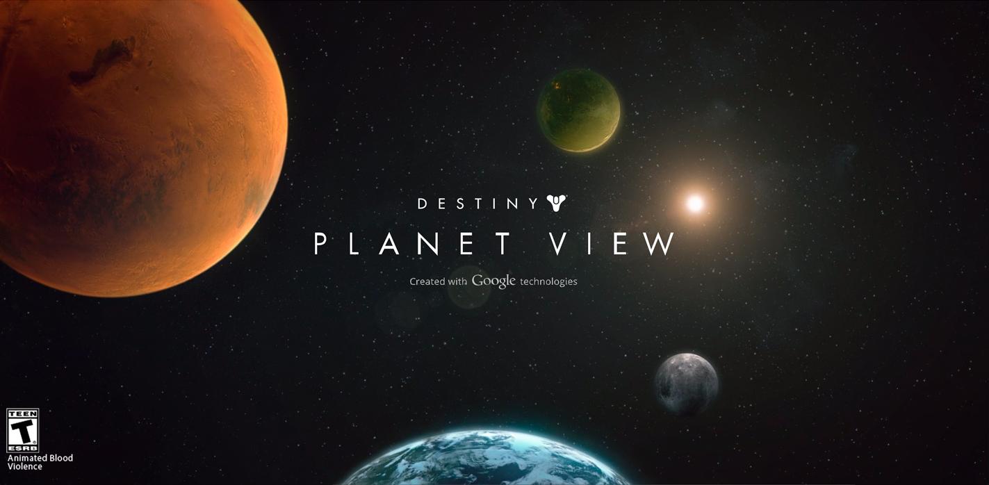 Destiny Planet View Sotd