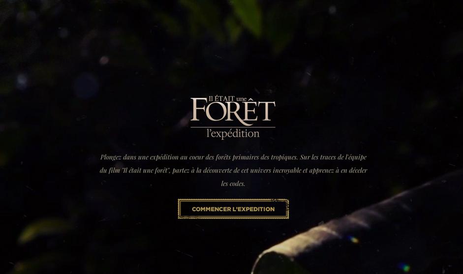 Il était une forêt - l'Expédition