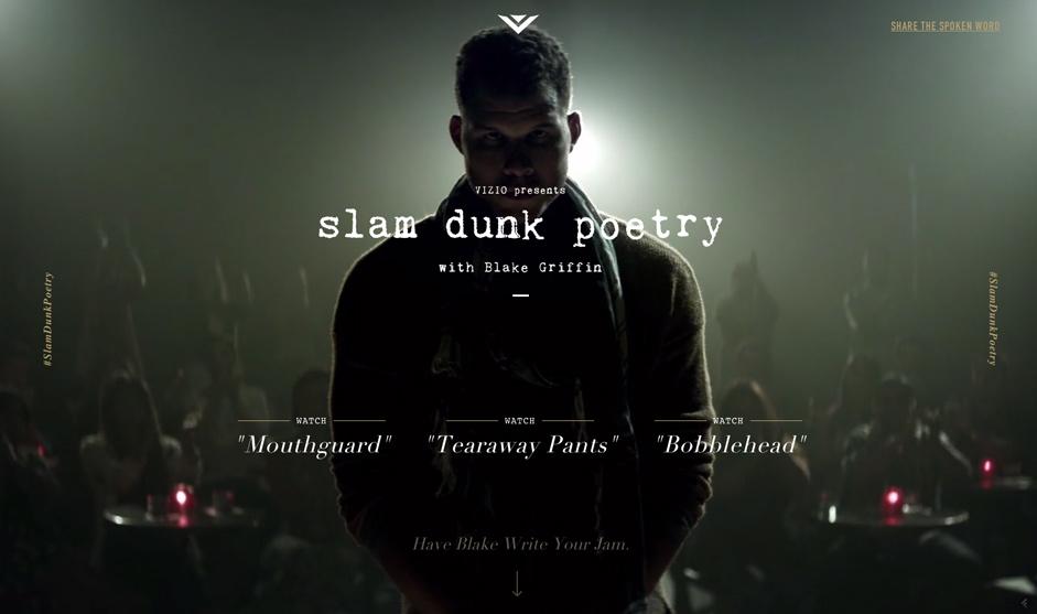 Slam Dunk Poetry