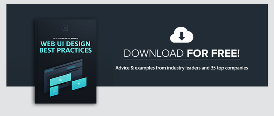 Web UI Design Best Practices: FREE eBook