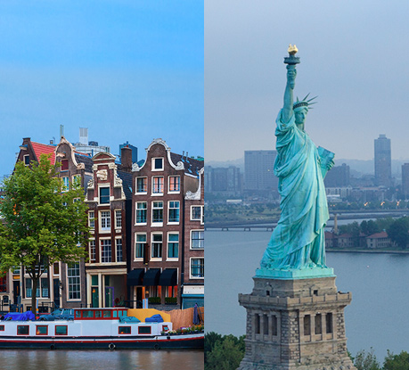 Amsterdam & New York revealed as the chosen cities for the Awwwards Conferences 2016