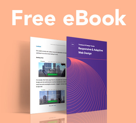 Free ebook: Responsive & Adaptive Web Design