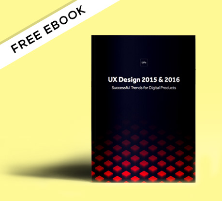 Free e-Book: UX Design Trends 2015 & 2016