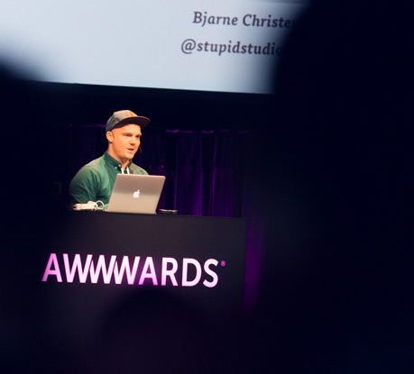 Web Processes & Creativity with Bjarne Christensen @Awwwards Conference