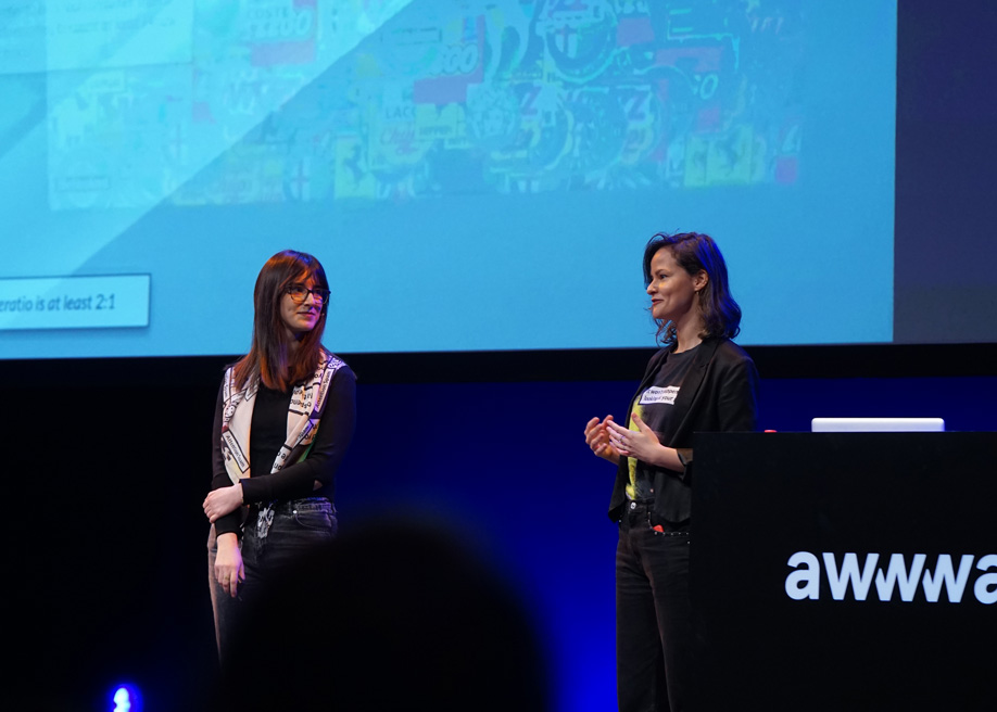 Talk: How UX / UI Design is changing the way we communicate,  TeYosh at Awwwards Conference Amsterdam