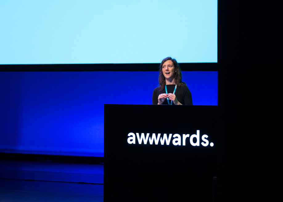 Talk: Building WeTransfer with Product Designer Amy West, Awwwards Conference Amsterdam