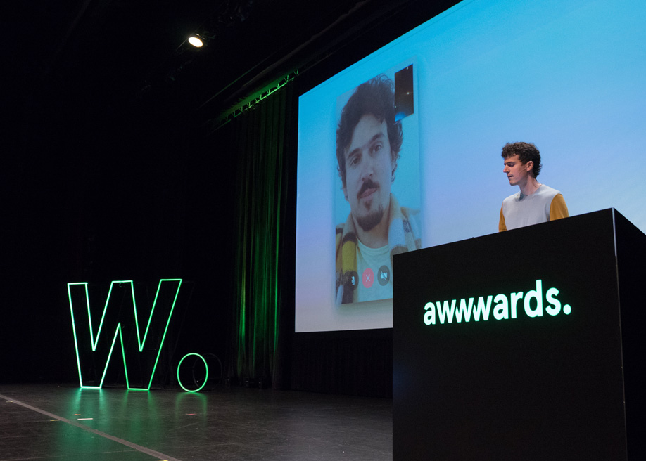 Talk: Alex Cornell - Choosing Idea Vessels For Your Creations, at Awwwards Conference San Francisco