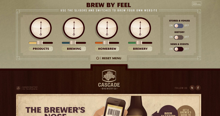 Cascade Brewery Co - Brew by Feel
