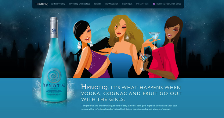 Hpnotiq - Drink Recipes