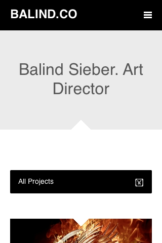 Balind Sieber - Digital Creative Direction