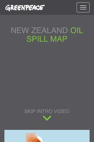 Oil Spill Map New Zealand