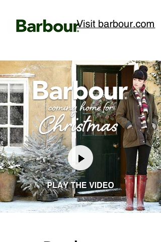 Barbour Christmas
